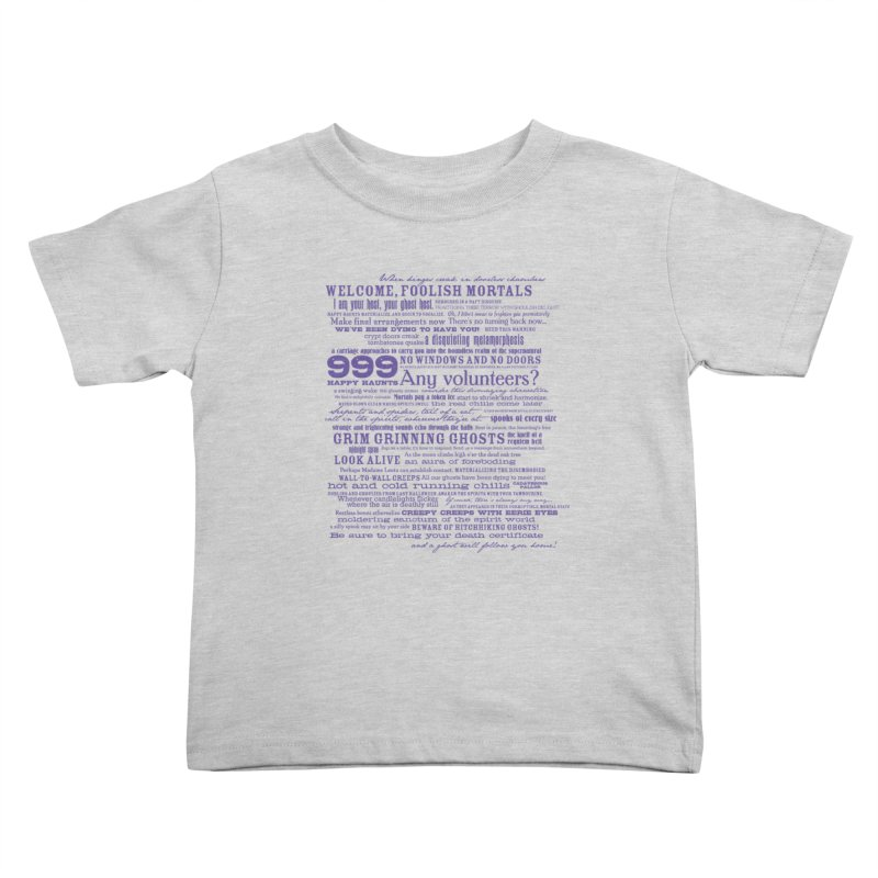 I am your Host, your Ghost Host... (Dark) Kids Toddler T-Shirt by actualchad's Artist Shop