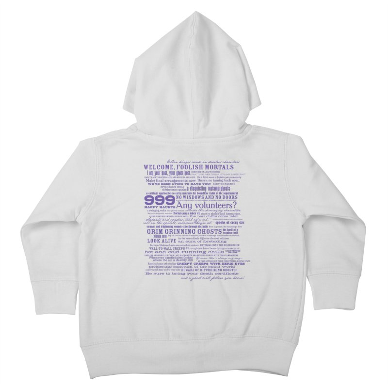 I am your Host, your Ghost Host... (Dark) Kids Toddler Zip-Up Hoody by actualchad's Artist Shop