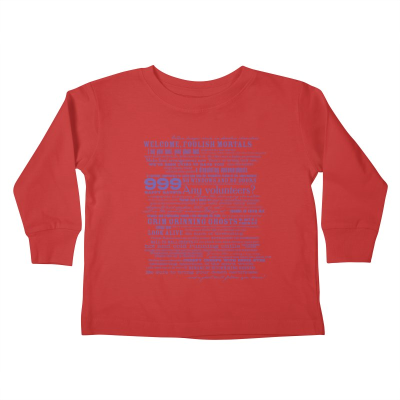 I am your Host, your Ghost Host... (Dark) Kids Toddler Longsleeve T-Shirt by actualchad's Artist Shop