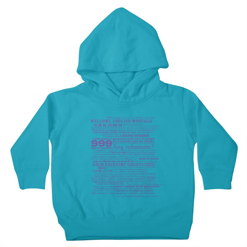 I am your Host, your Ghost Host... (Dark) Kids Toddler Pullover Hoody by actualchad's Artist Shop