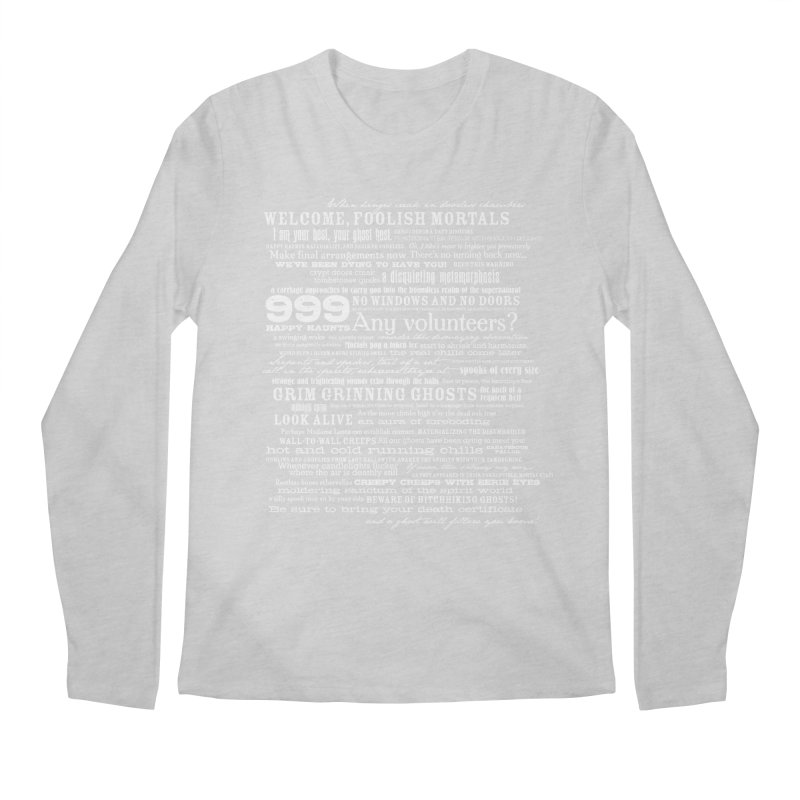 I am your Host, your Ghost Host... (Light) Men's Longsleeve T-Shirt by actualchad's Artist Shop