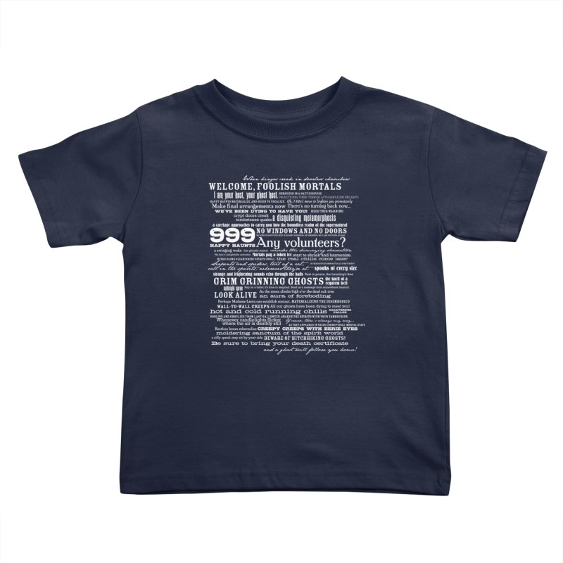 I am your Host, your Ghost Host... (Light) Kids Toddler T-Shirt by actualchad's Artist Shop