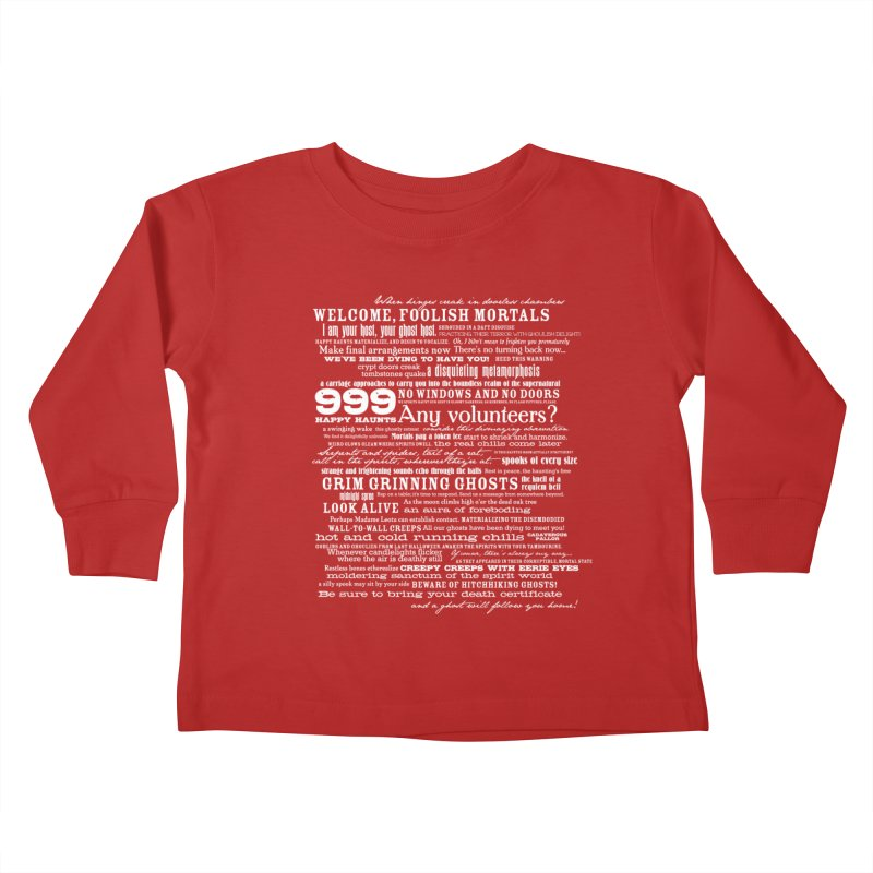 I am your Host, your Ghost Host... (Light) Kids Toddler Longsleeve T-Shirt by actualchad's Artist Shop