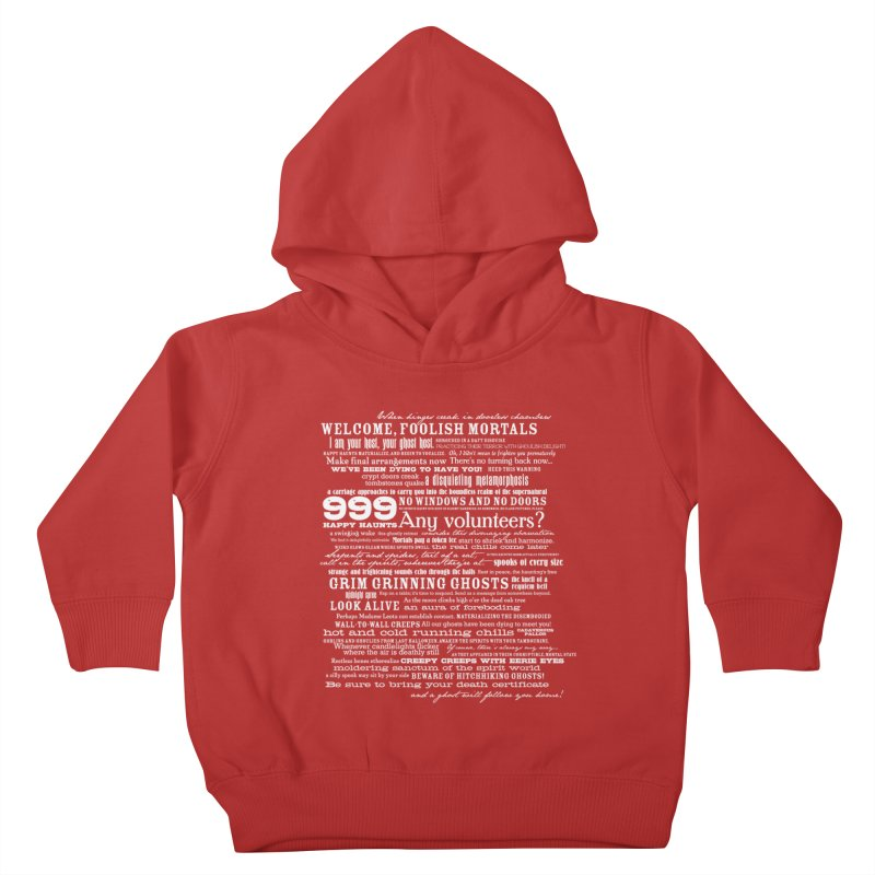I am your Host, your Ghost Host... (Light) Kids Toddler Pullover Hoody by actualchad's Artist Shop