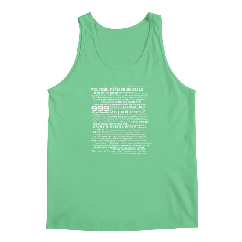I am your Host, your Ghost Host... (Light) Men's Tank by actualchad's Artist Shop