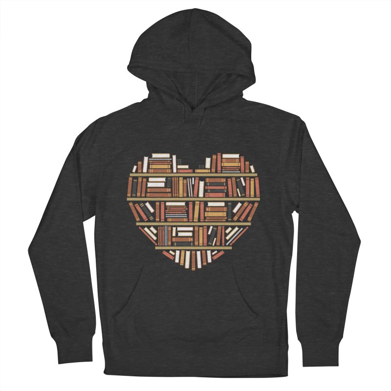 I Heart Books Women's Pullover Hoody by ACWE Artist Shop