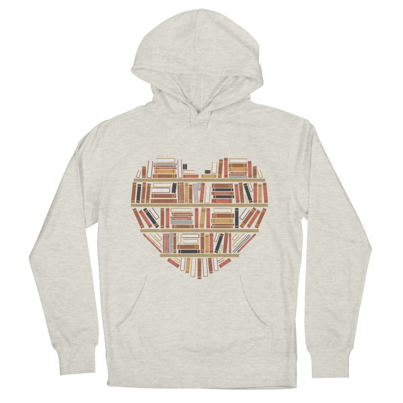 I Heart Books Women's Pullover Hoody by ACWE Artist Shop