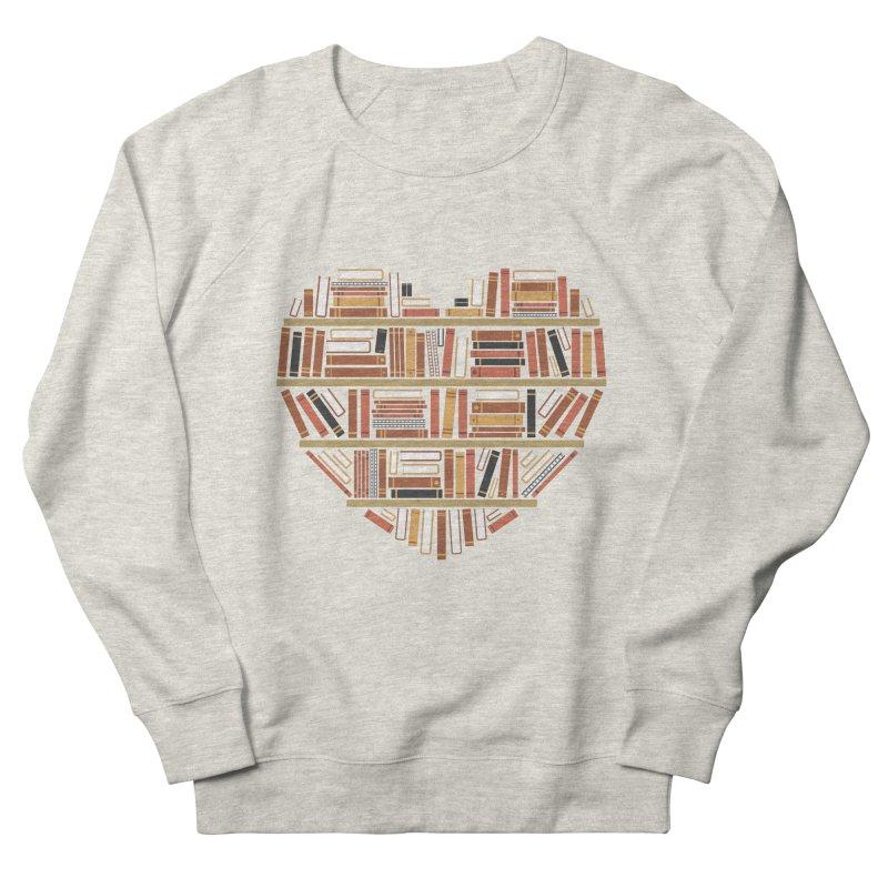 I Heart Books Women's Sweatshirt by ACWE Artist Shop