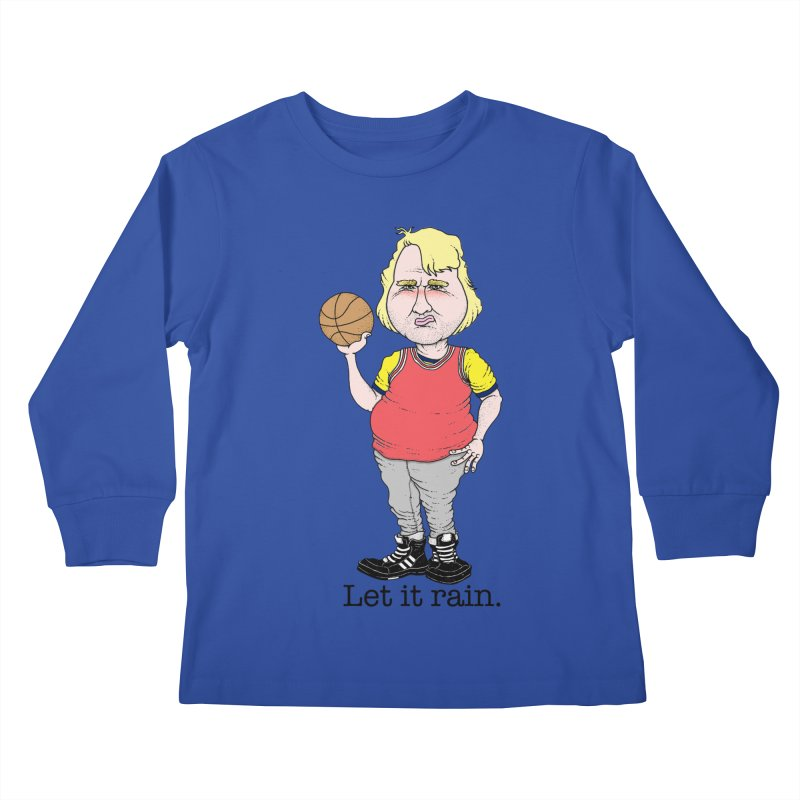White Chocolate Kids Longsleeve T-Shirt by Adam Ballinger Artist Shop