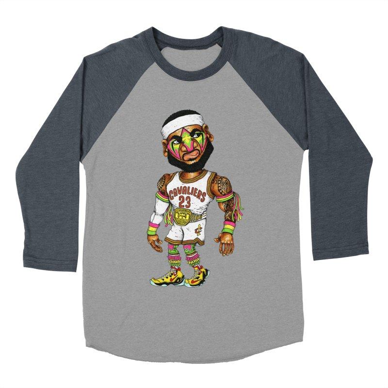 Lebrontimate Warrior Women's Baseball Triblend T-Shirt by Adam Ballinger Artist Shop
