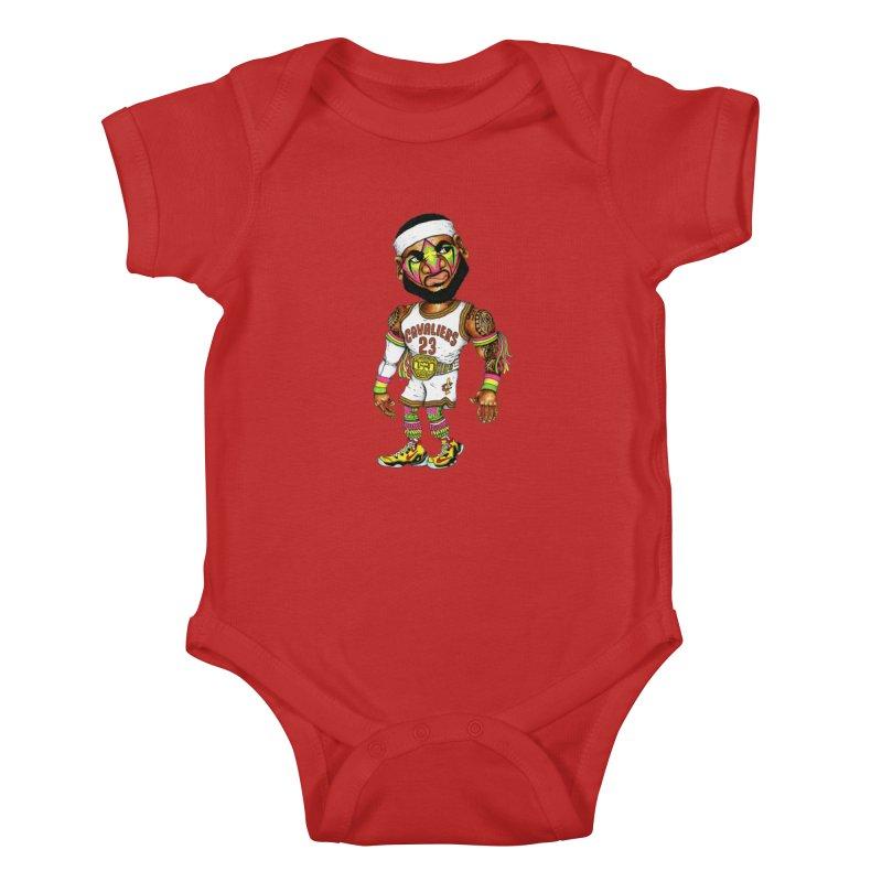 Lebrontimate Warrior Kids Baby Bodysuit by Adam Ballinger Artist Shop