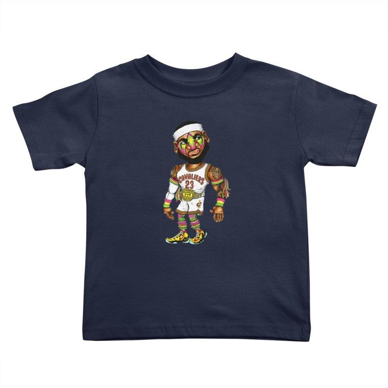 Lebrontimate Warrior Kids Toddler T-Shirt by Adam Ballinger Artist Shop