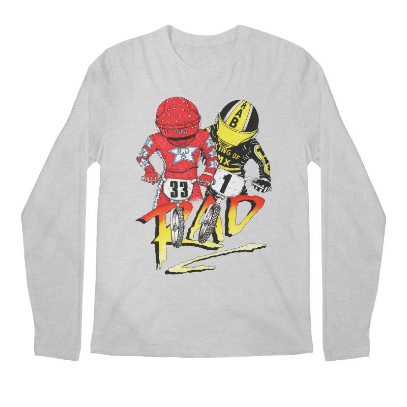 Stay Rad Men's Longsleeve T-Shirt by Adam Ballinger Artist Shop
