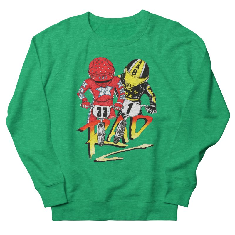 Stay Rad Women's Sweatshirt by Adam Ballinger Artist Shop