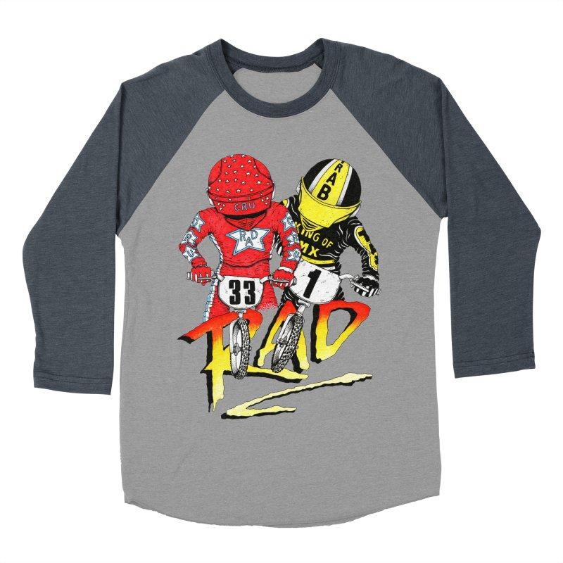 Stay Rad Men's Baseball Triblend T-Shirt by Adam Ballinger Artist Shop