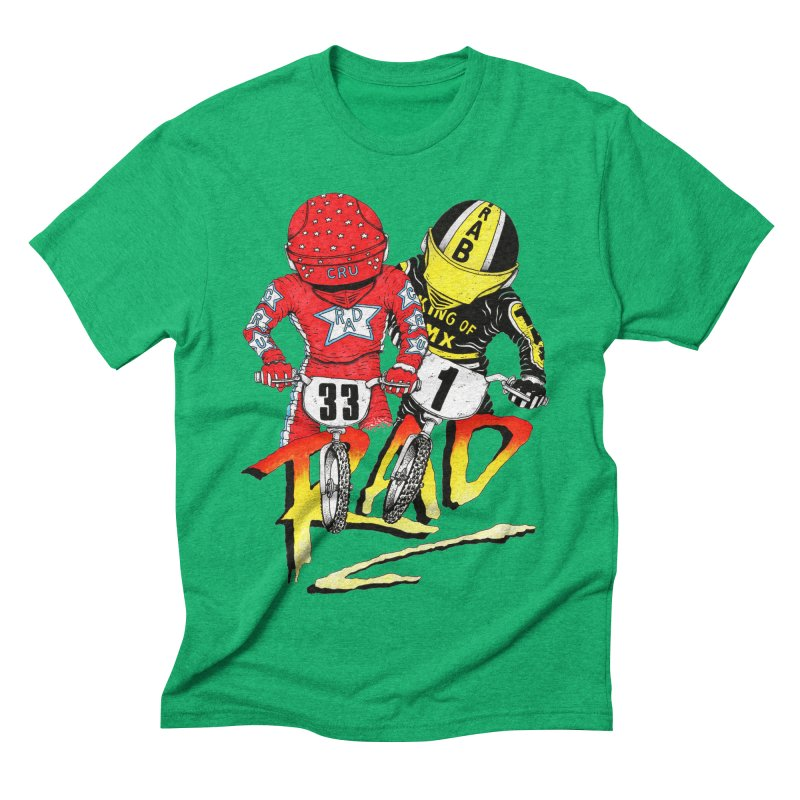 Stay Rad Men's Triblend T-shirt by Adam Ballinger Artist Shop