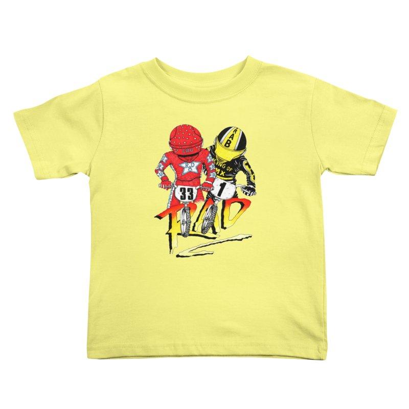 Stay Rad Kids Toddler T-Shirt by Adam Ballinger Artist Shop