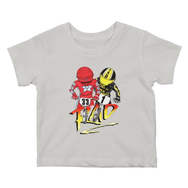 Stay Rad Kids Baby T-Shirt by Adam Ballinger Art