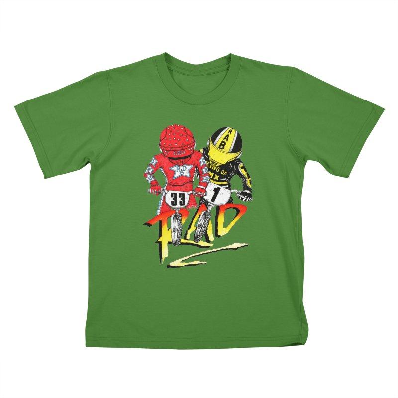Stay Rad Kids T-shirt by Adam Ballinger Artist Shop