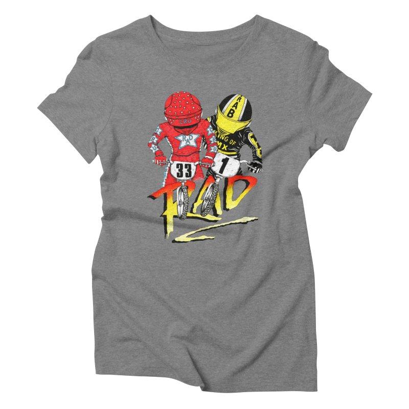 Stay Rad Women's Triblend T-shirt by Adam Ballinger Artist Shop
