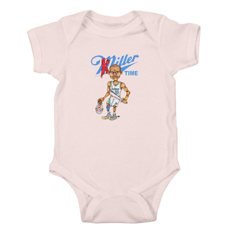 Killer Time Kids Baby Bodysuit by Adam Ballinger Art