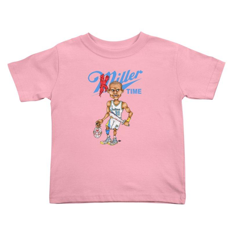 Killer Time Kids Toddler T-Shirt by Adam Ballinger Artist Shop