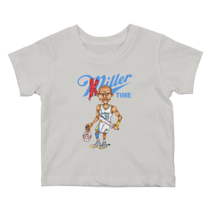 Killer Time Kids Baby T-Shirt by Adam Ballinger Artist Shop