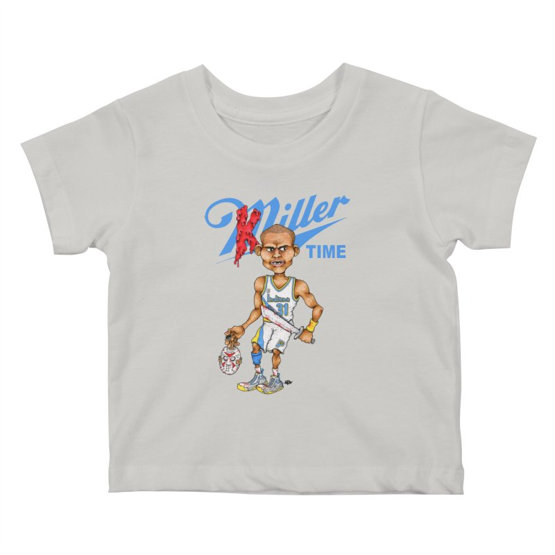 Killer Time Kids Baby T-Shirt by Adam Ballinger Art