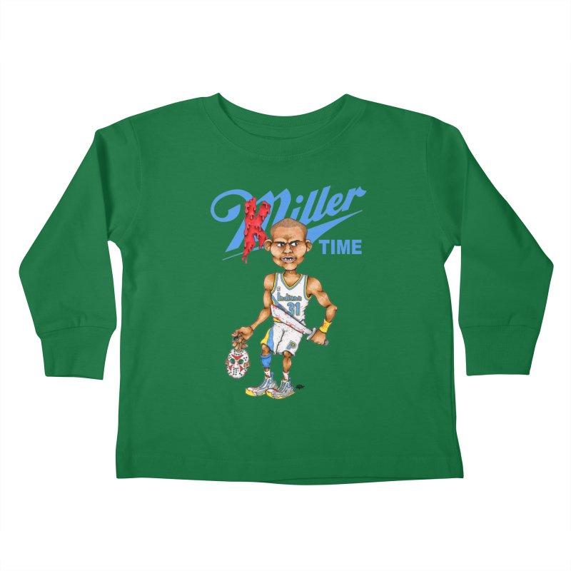 Killer Time Kids Toddler Longsleeve T-Shirt by Adam Ballinger Art