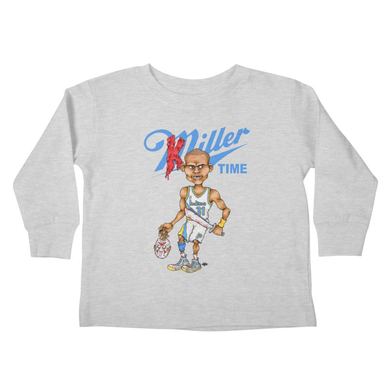 Killer Time Kids Toddler Longsleeve T-Shirt by Adam Ballinger Artist Shop