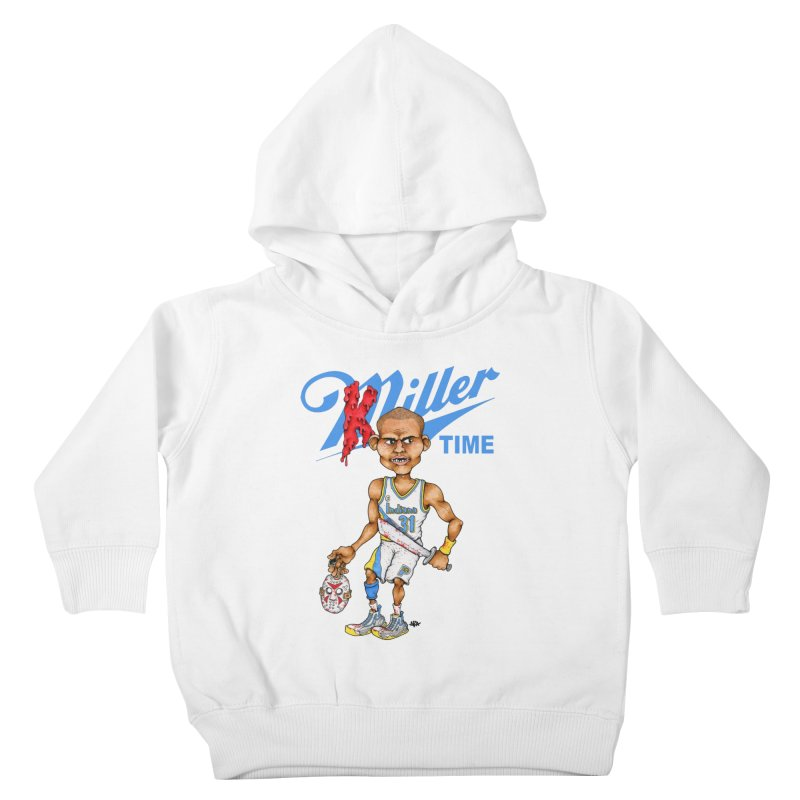 Killer Time Kids Toddler Pullover Hoody by Adam Ballinger Art
