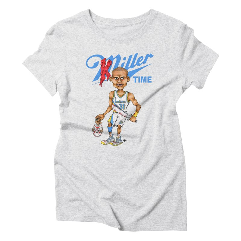 Killer Time Women's Triblend T-shirt by Adam Ballinger Artist Shop