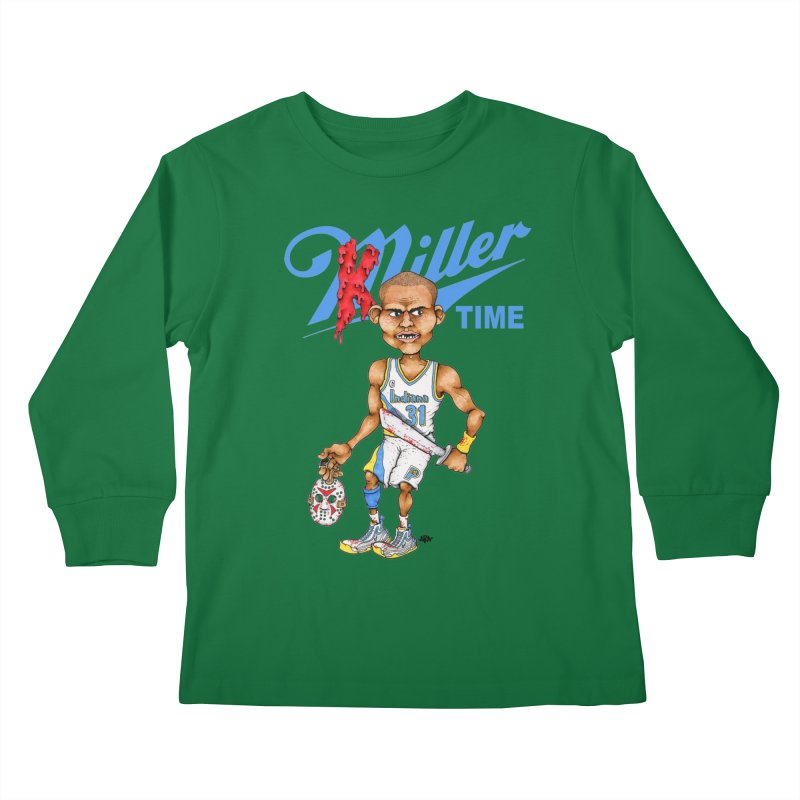 Killer Time Kids Longsleeve T-Shirt by Adam Ballinger Artist Shop