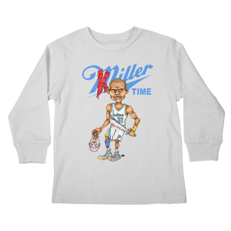 Killer Time Kids Longsleeve T-Shirt by Adam Ballinger Art