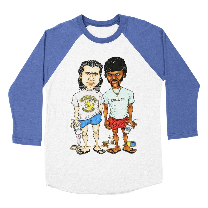 Royals With Cheese Women's Baseball Triblend T-Shirt by Adam Ballinger Artist Shop