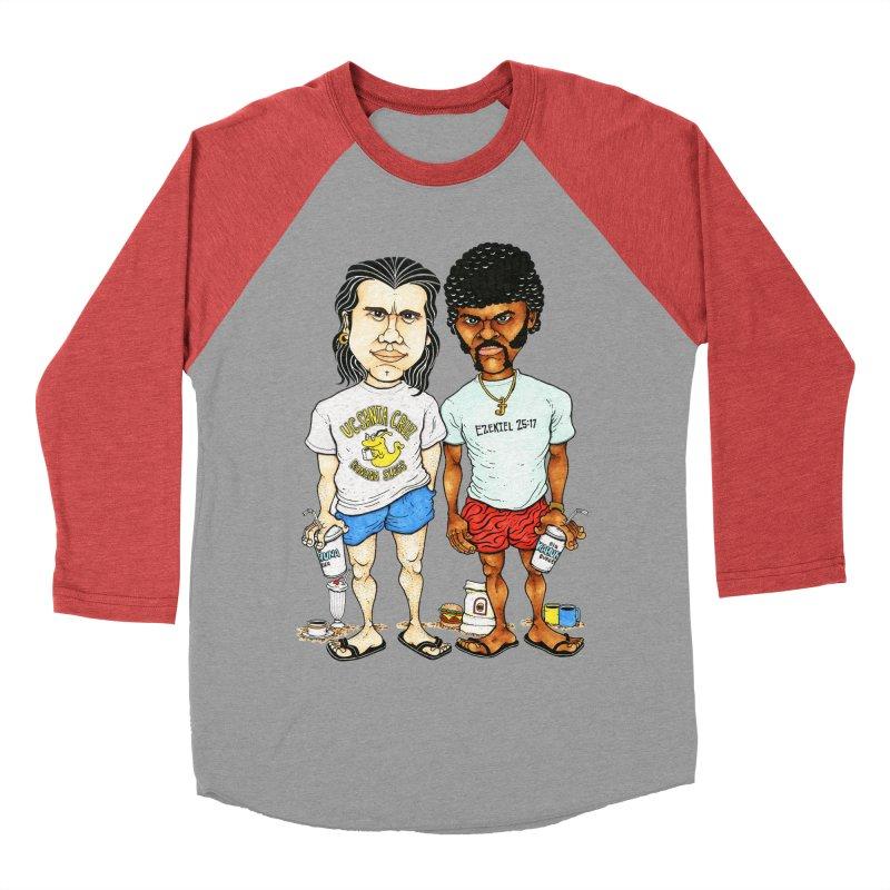 Royals With Cheese Women's Baseball Triblend T-Shirt by Adam Ballinger Art
