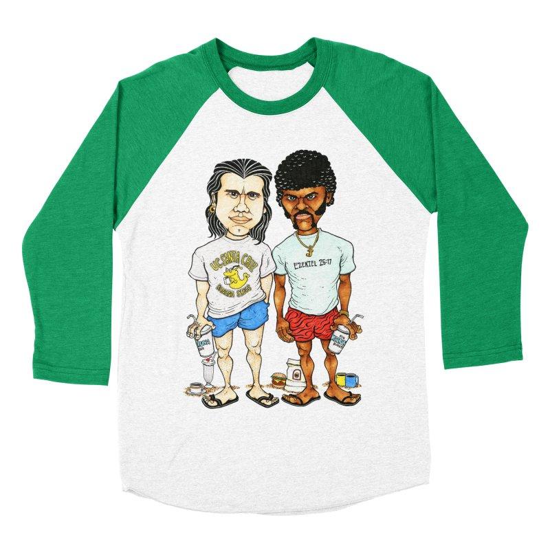 Royals With Cheese Men's Baseball Triblend T-Shirt by Adam Ballinger Artist Shop