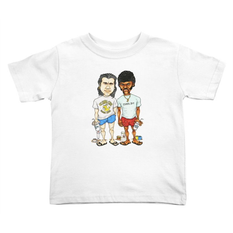 Royals With Cheese Kids Toddler T-Shirt by Adam Ballinger Art
