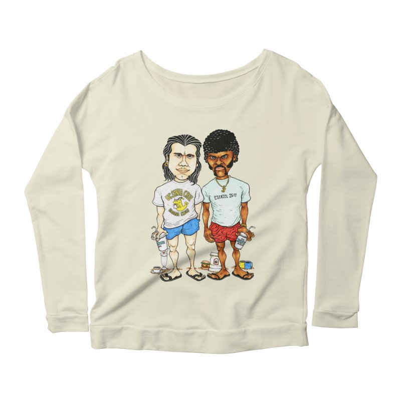 Royals With Cheese Women's Longsleeve Scoopneck  by Adam Ballinger Artist Shop