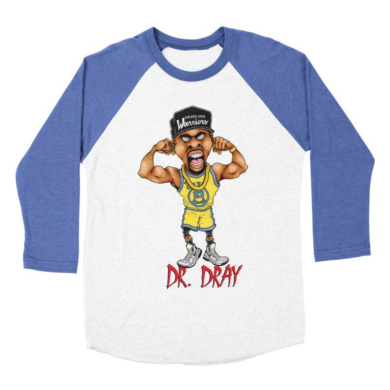 Dray Day Women's Baseball Triblend T-Shirt by Adam Ballinger Artist Shop