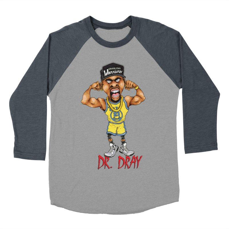Dray Day Women's Baseball Triblend T-Shirt by Adam Ballinger Art