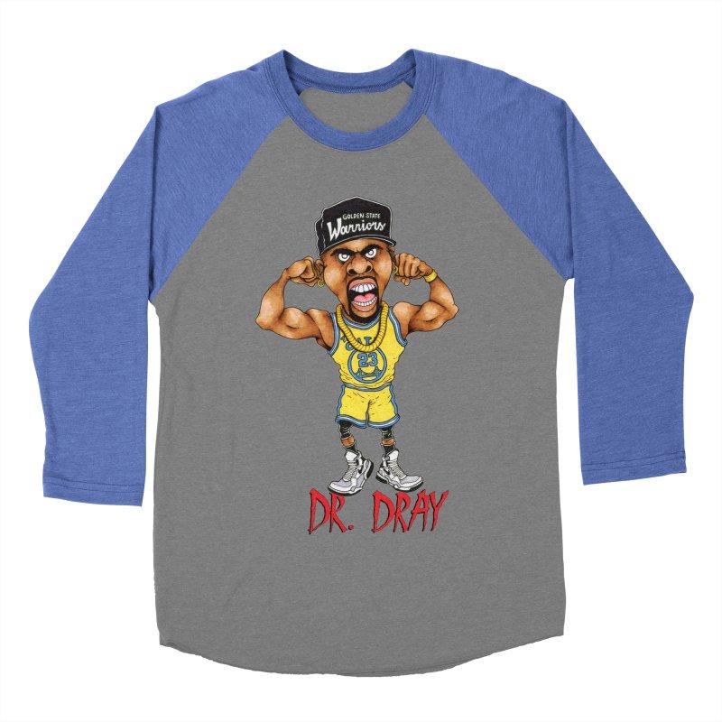 Dray Day Men's Baseball Triblend T-Shirt by Adam Ballinger Artist Shop