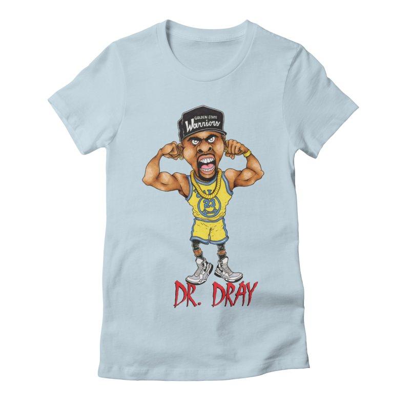 Dray Day Women's Fitted T-Shirt by Adam Ballinger Artist Shop