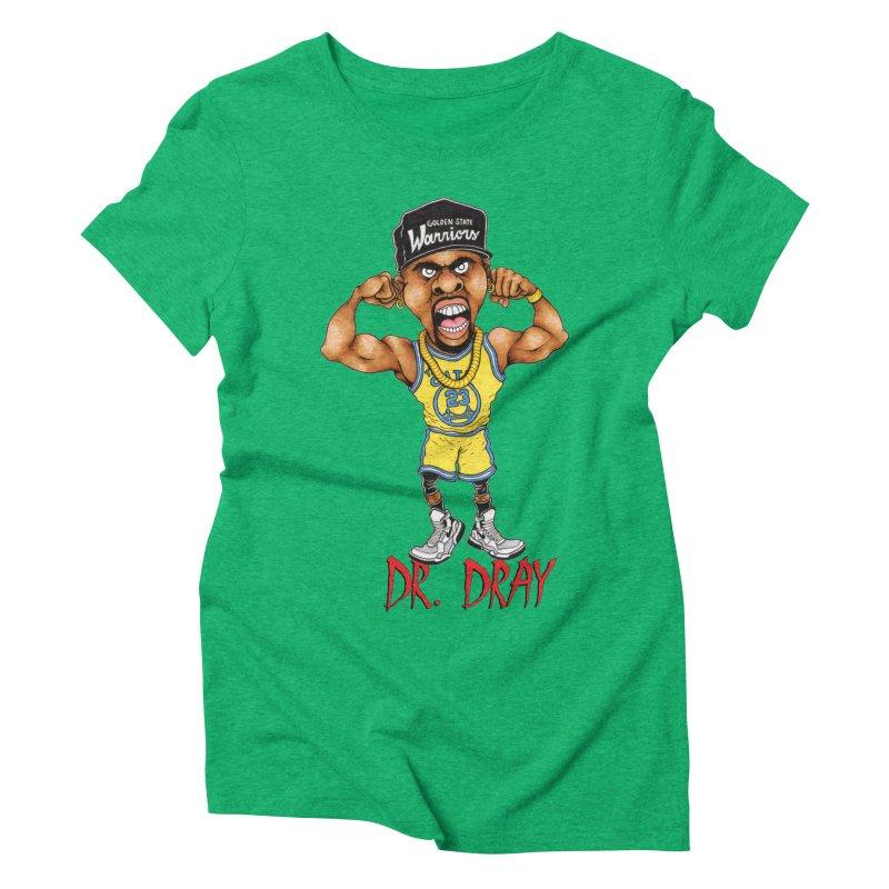Dray Day Women's Triblend T-shirt by Adam Ballinger Artist Shop