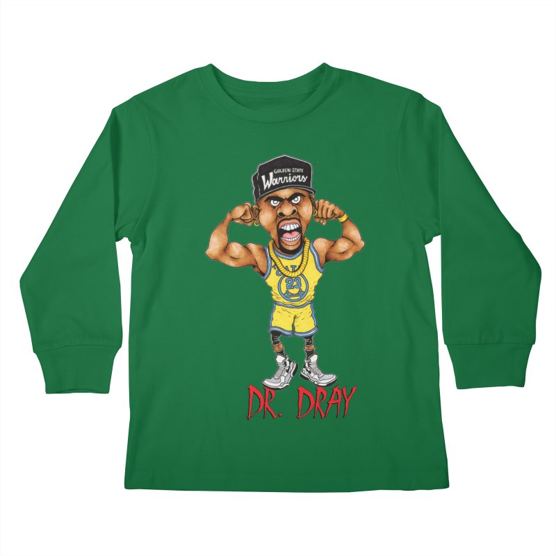 Dray Day Kids Longsleeve T-Shirt by Adam Ballinger Artist Shop