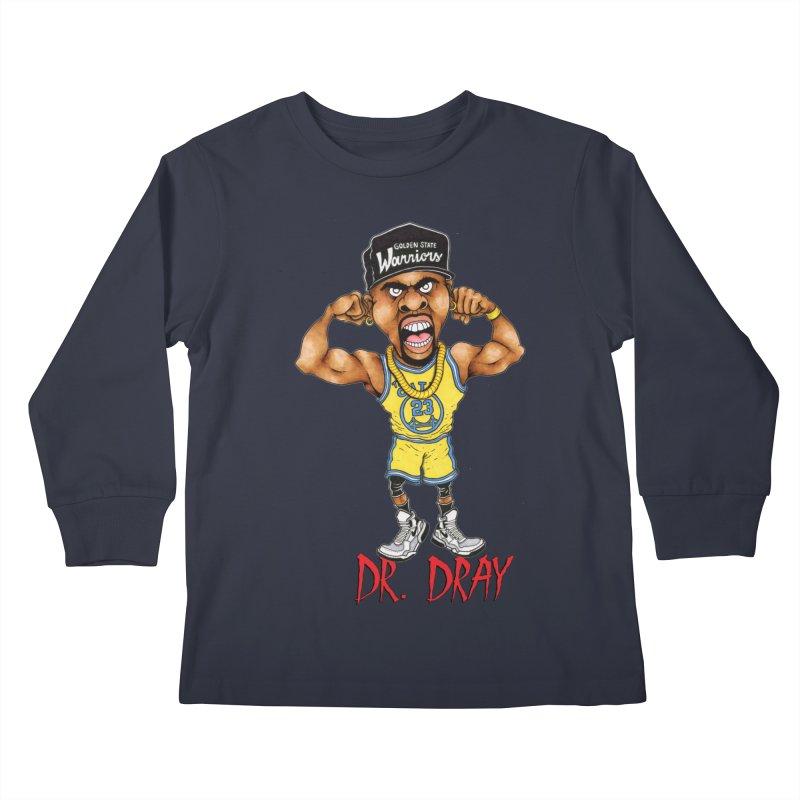 Dray Day Kids Longsleeve T-Shirt by Adam Ballinger Artist Shop
