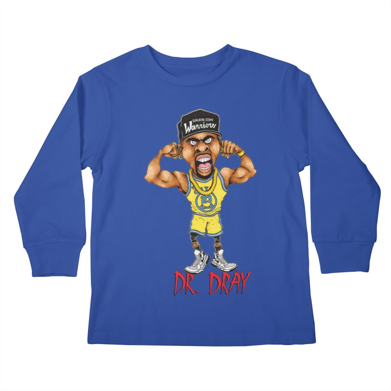 Dray Day Kids Longsleeve T-Shirt by Adam Ballinger Art