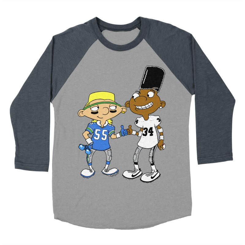 Hey Bo n' Boz Women's Baseball Triblend T-Shirt by Adam Ballinger Artist Shop