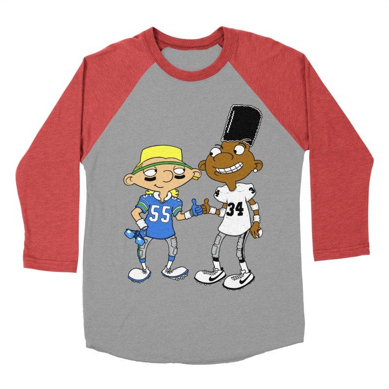 Hey Bo n' Boz Men's Baseball Triblend T-Shirt by Adam Ballinger Artist Shop