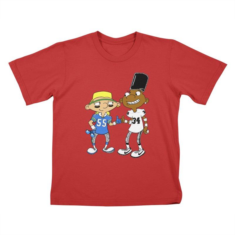 Hey Bo n' Boz Kids T-shirt by Adam Ballinger Artist Shop